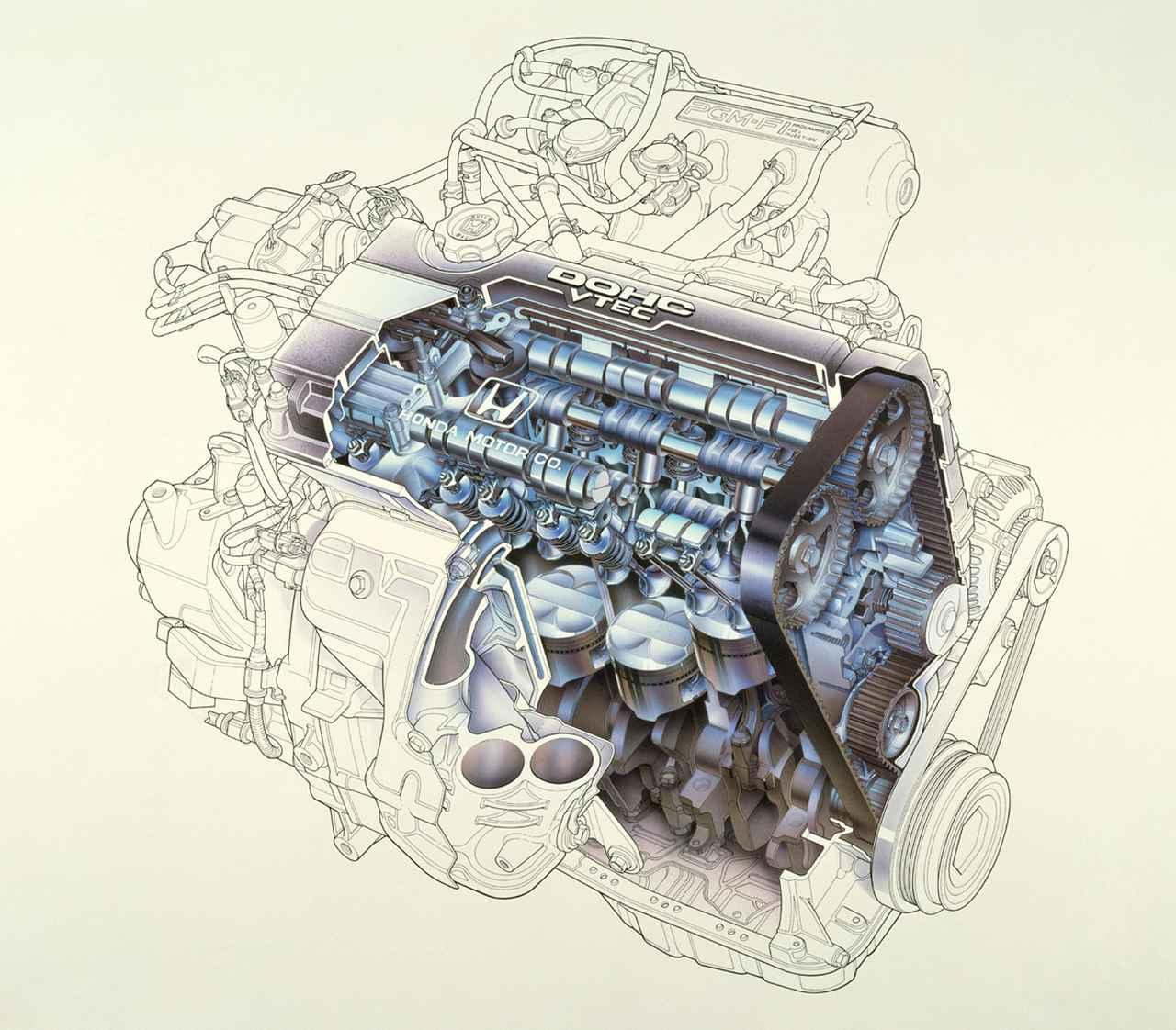Images : 9番目の画像 - F1直系のテクノロジーを投入したZC型エンジンと主な搭載車 - Webモーターマガジン