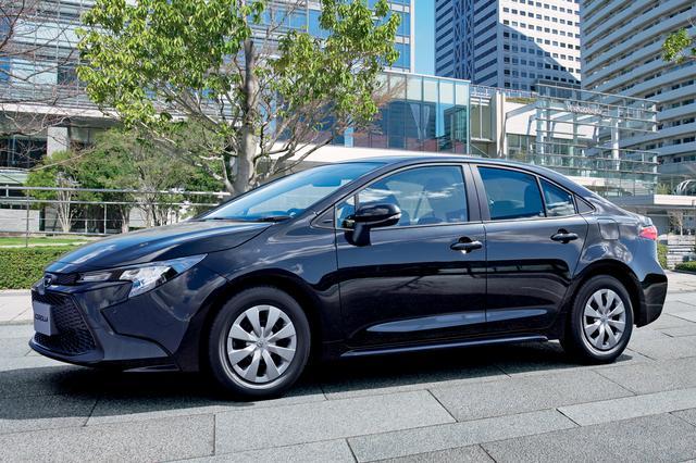 画像: カローラ特別仕様車 G-X「プラス」。UVカット機能付きのプライバシーガラスを特別装備。