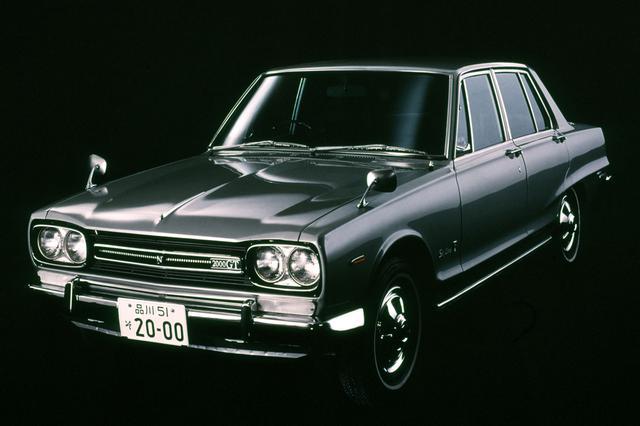 画像: 1968年に登場したC10型スカイライン2000GTの心臓もL20型。1969年中頃までは初期型のL20だった。