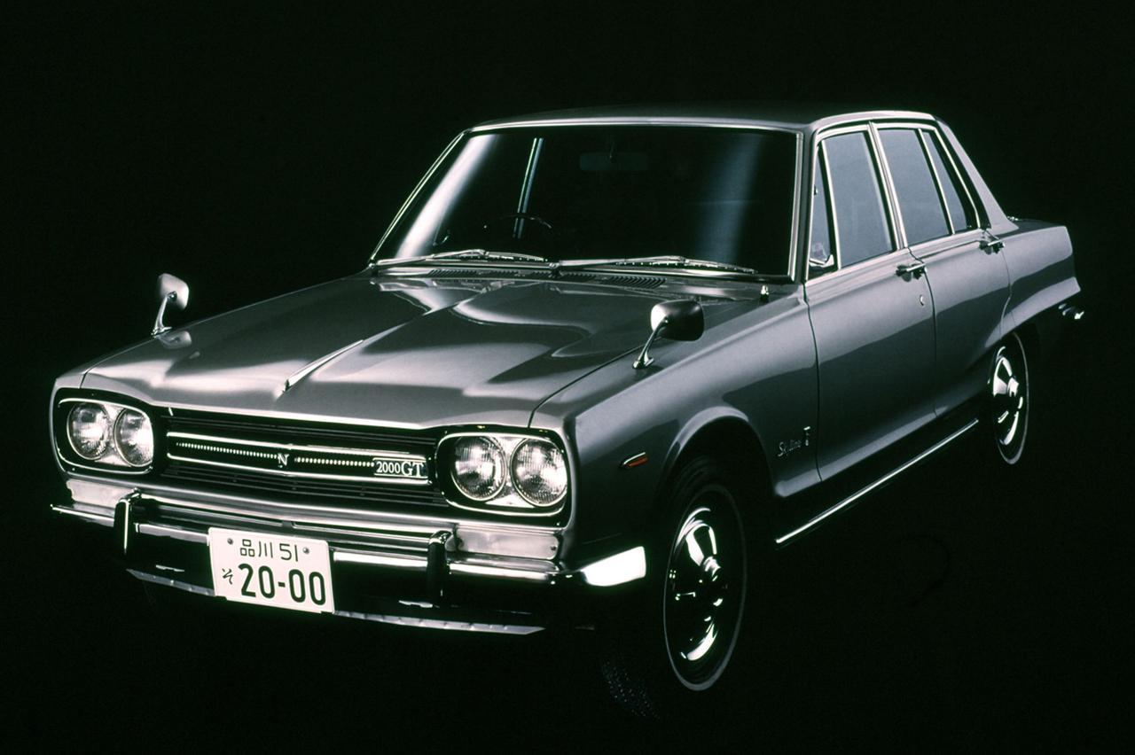 Image: Le cœur de la C10 Skyline 2000GT apparue en 1968 est également de type L20.  C'était un des premiers modèles L20 jusqu'au milieu de 1969.