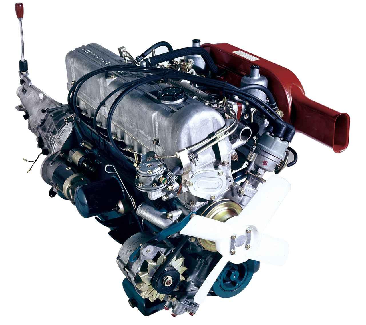 Images : 1番目の画像 - L型6気筒エンジンと主な搭載車 - Webモーターマガジン