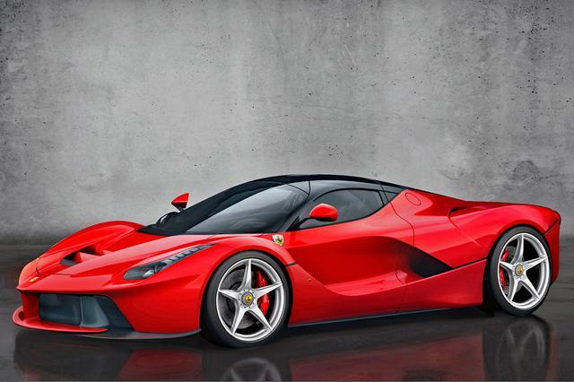 画像: 公式のアナウンスはないが、ラ・フェラーリの車格とモデルレンジはエンツォフェラーリに近い。