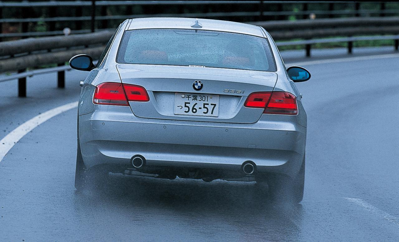 Images : 3番目の画像 - BMW 335iクーペとポルシェ911ターボ - Webモーターマガジン