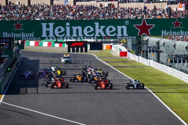 画像: 2019年日本GP。2020年は10月11日に決勝レースが開催されることになっているが、実際にはスケジュールは白紙状態。