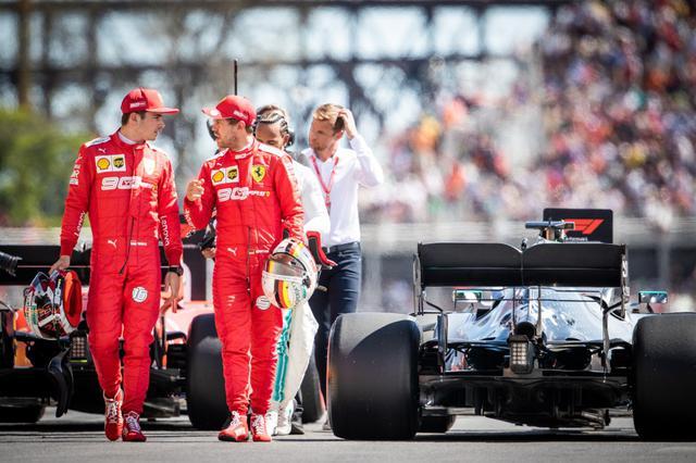 画像: 2020年のチャンピオンを目指すスクーデリア・フェラーリのシャルル・ルクレール(左)とセバスチャン・ヴェッテル。今シーズン、チームはどうなるのだろうか。