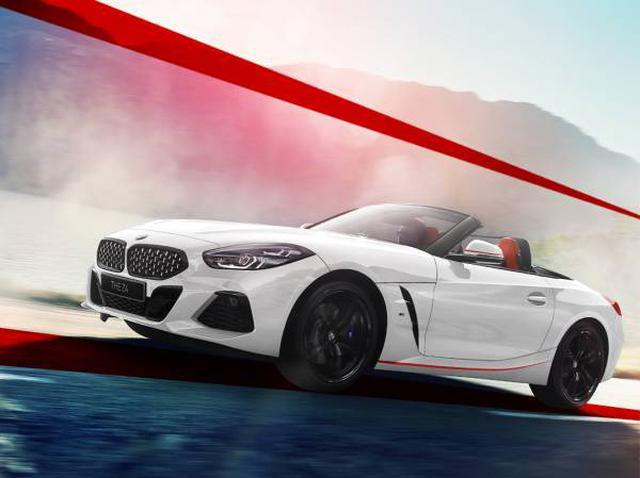 画像: BMW Z4 sDrive20i M Sport エディションサンライズ。この限定車は、デザインのみならず、装備の充実と魅力的な価格が特徴となる。