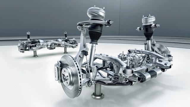 画像: 「アクティブ・ライド・コントロール」。1秒あたり1000回の頻度で路面の状態に対応した車両の制御を電気式で行うという。