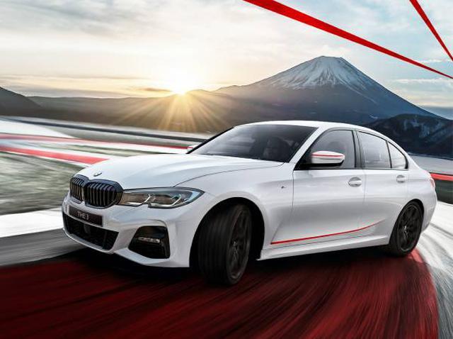 画像: BMW 320d xDrive M Sport エディションサンライズ。320d xDrive M Sportにはメルボルンレッドのボディカラーも用意される。