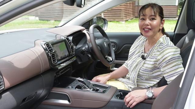 画像: 竹岡 圭の今日もクルマと・・・シトロエン C3エアクロスSUV C5エアクロスSUV www.youtube.com