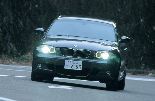 画像: 日本では2004年9月に登場した1シリーズ。3L直6エンジンを搭載した130iMスポーツは2005年10月に設定された。