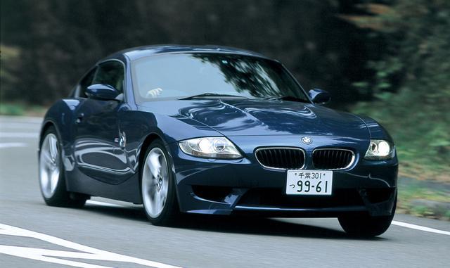 画像: 日本では2006年4月25日に注文の受付が開始されたZ4 Mクーペ。