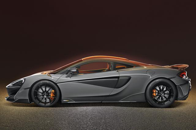 画像: 車名の「LT=ロングテール」のとおり、ベースの570Sよりもテールエンドが74mm長くなっている。