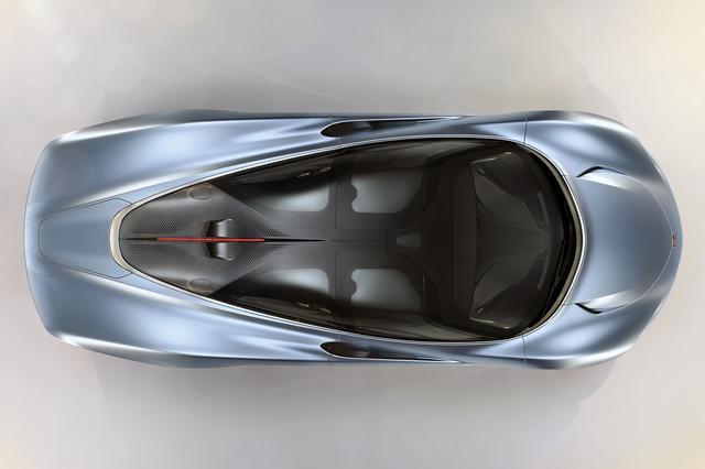 画像: 真上から見ると、キャブフォワードでテールに向かって絞り込まれたティアドロップ形状のボディスタイルがよく分かる。