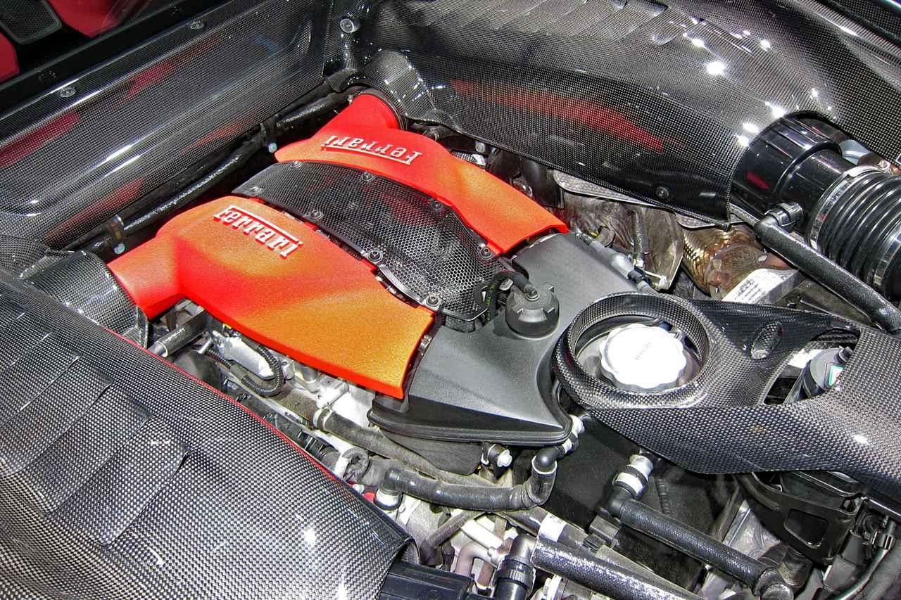 画像: 720psと770Nmを発生する3.9LのV8ツインターボは、スペシャルシリーズを除くフェラーリ史上もっともパワフルなV8エンジンだ。