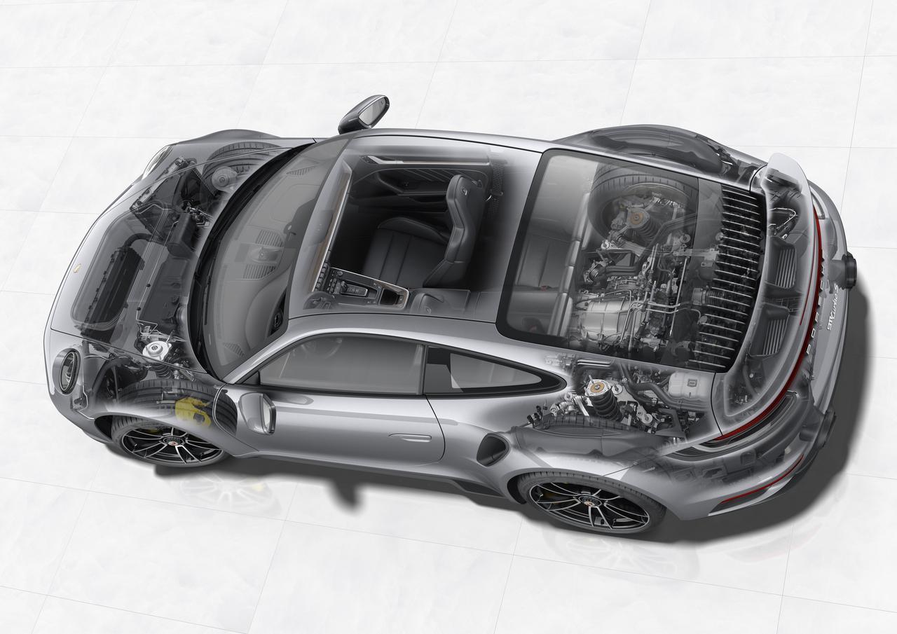 Images : 4番目の画像 - ポルシェ 911 ターボ S - Webモーターマガジン