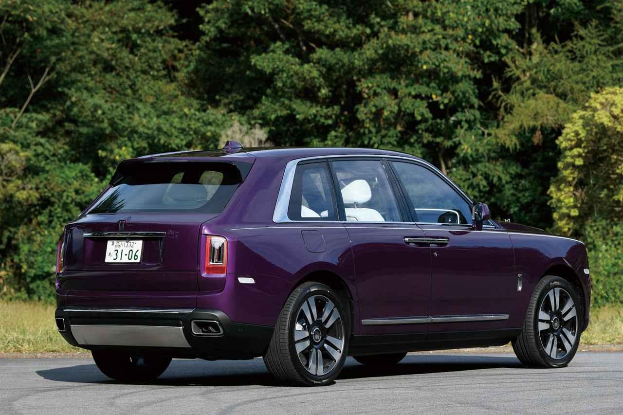画像: カリナン。SUVのハイパフォーマンス化が進むが、その中でも別格というべき存在。