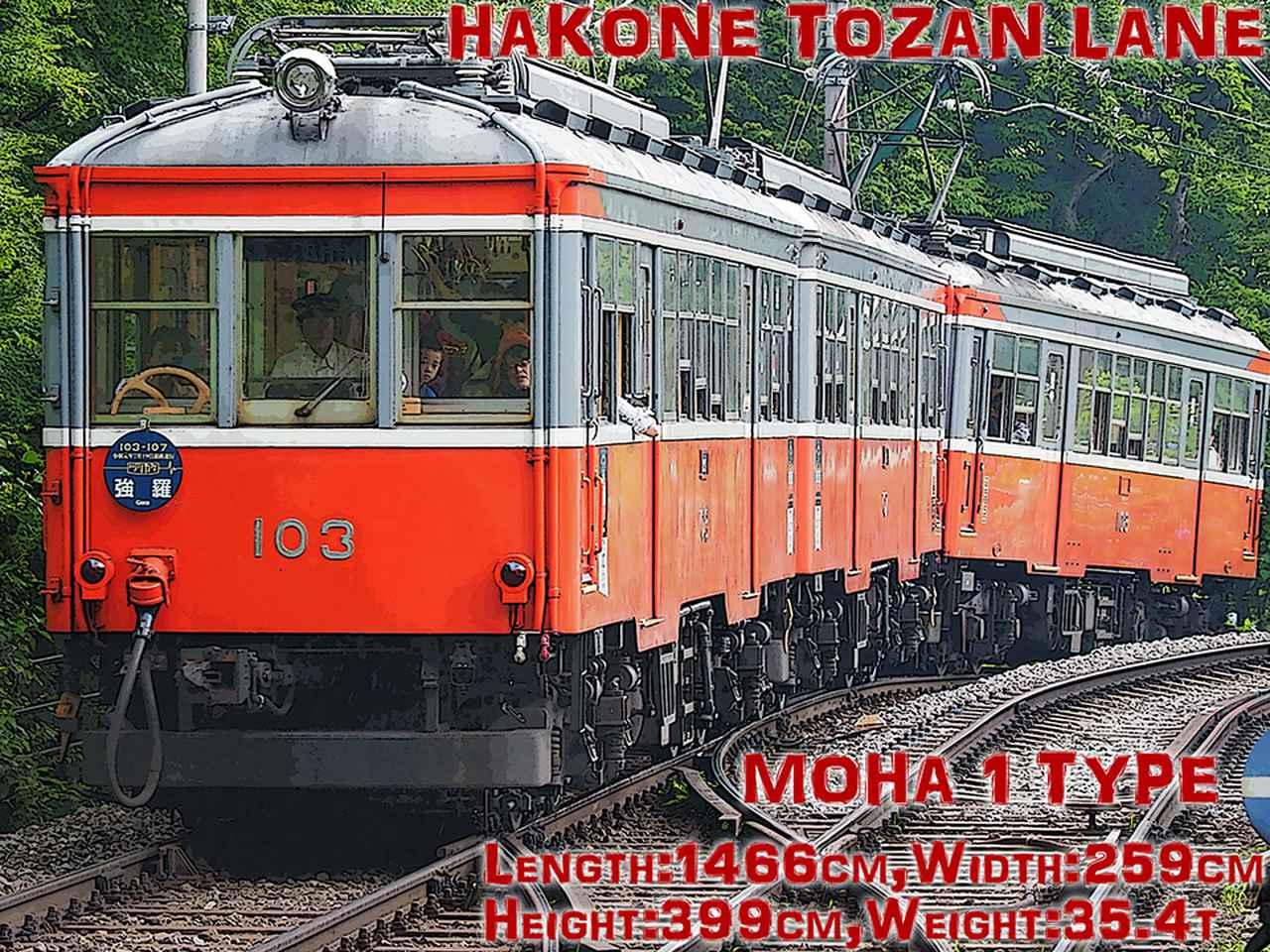 Images : 1番目の画像 - モンスターマシン 022 箱根登山鉄道 - Webモーターマガジン