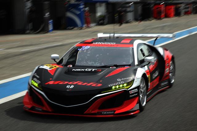 画像: テスト初日にジェイク・パーソンズのドライブでトップタイムを記録したModulo KENWOOD NSX GT3