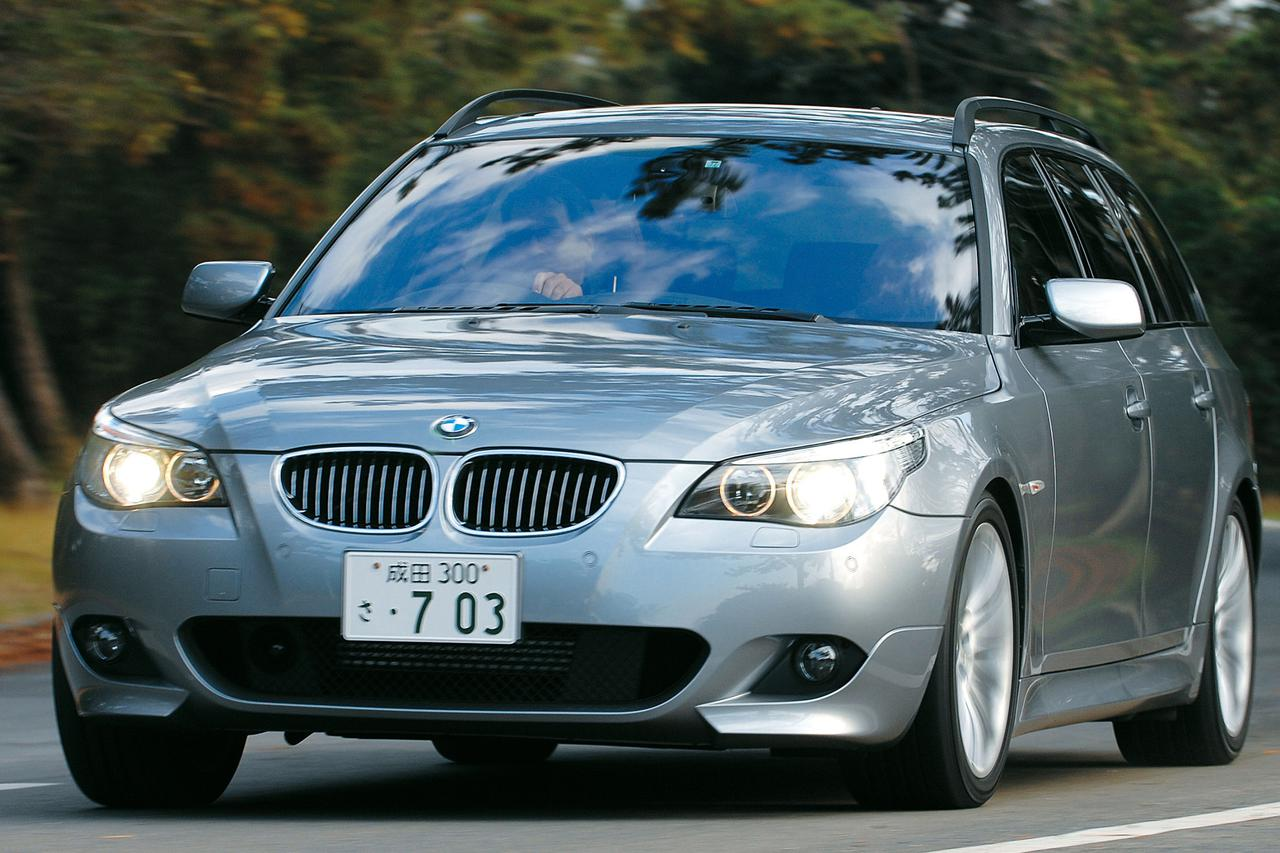 Images : 1番目の画像 - BMW 550i ツーリング - Webモーターマガジン