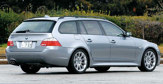 Images : 2番目の画像 - BMW 550i ツーリング - Webモーターマガジン