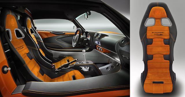 画像: インテリアはボディカラーとコーディネイトされる。カーボンスポーツシートも装着。