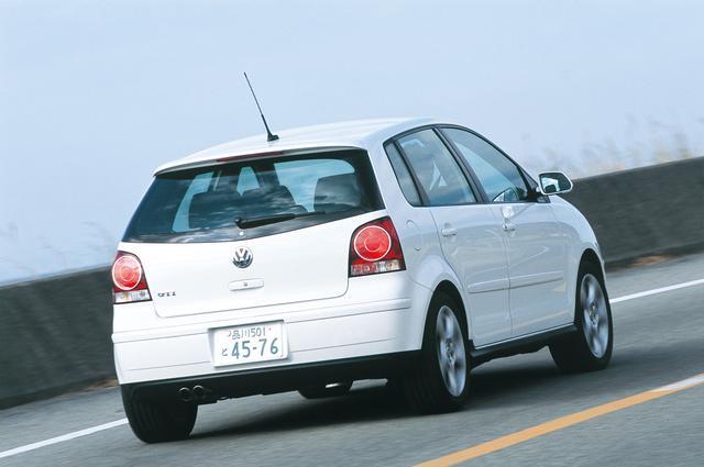 画像: 2005年12月、欧州に先駆けて日本でデビューしたポロGTI。