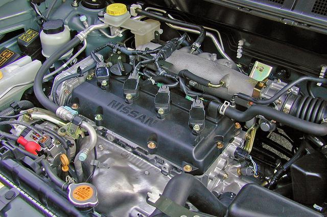 画像: 150psと200Nmを発生する2.0Lの直4エンジンは4速ATとの相性も良く、パワー的には必要十分。
