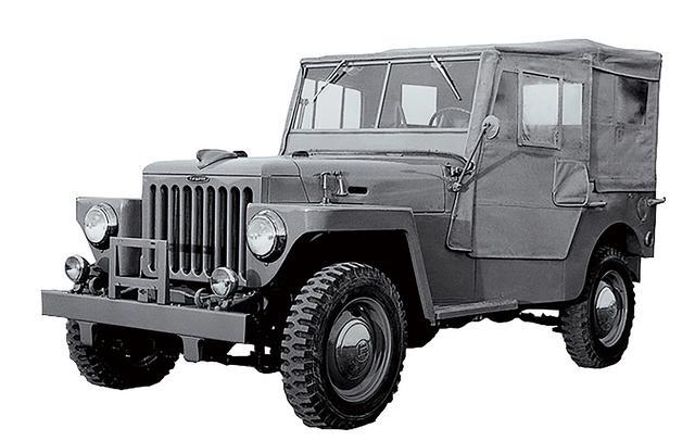 画像: 1951年に登場した「BJ型」は1951年に試作車が完成し、1953年から生産を開始した。車名の由来はB型エンジンとJ型シャシからきている。