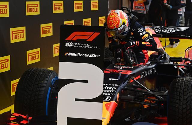 画像: ドライコンディションのフリー走行2回目ではトップタイムをマークしたフェルスタッペンだったが、予選Q3の最終アタックでスピンしてポールポジション獲得はならなかった。
