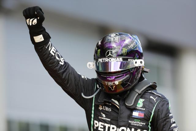画像: ポールトゥフィニッシュを飾ったルイス・ハミルトン(メルセデスAMG)。完璧な勝利だった。