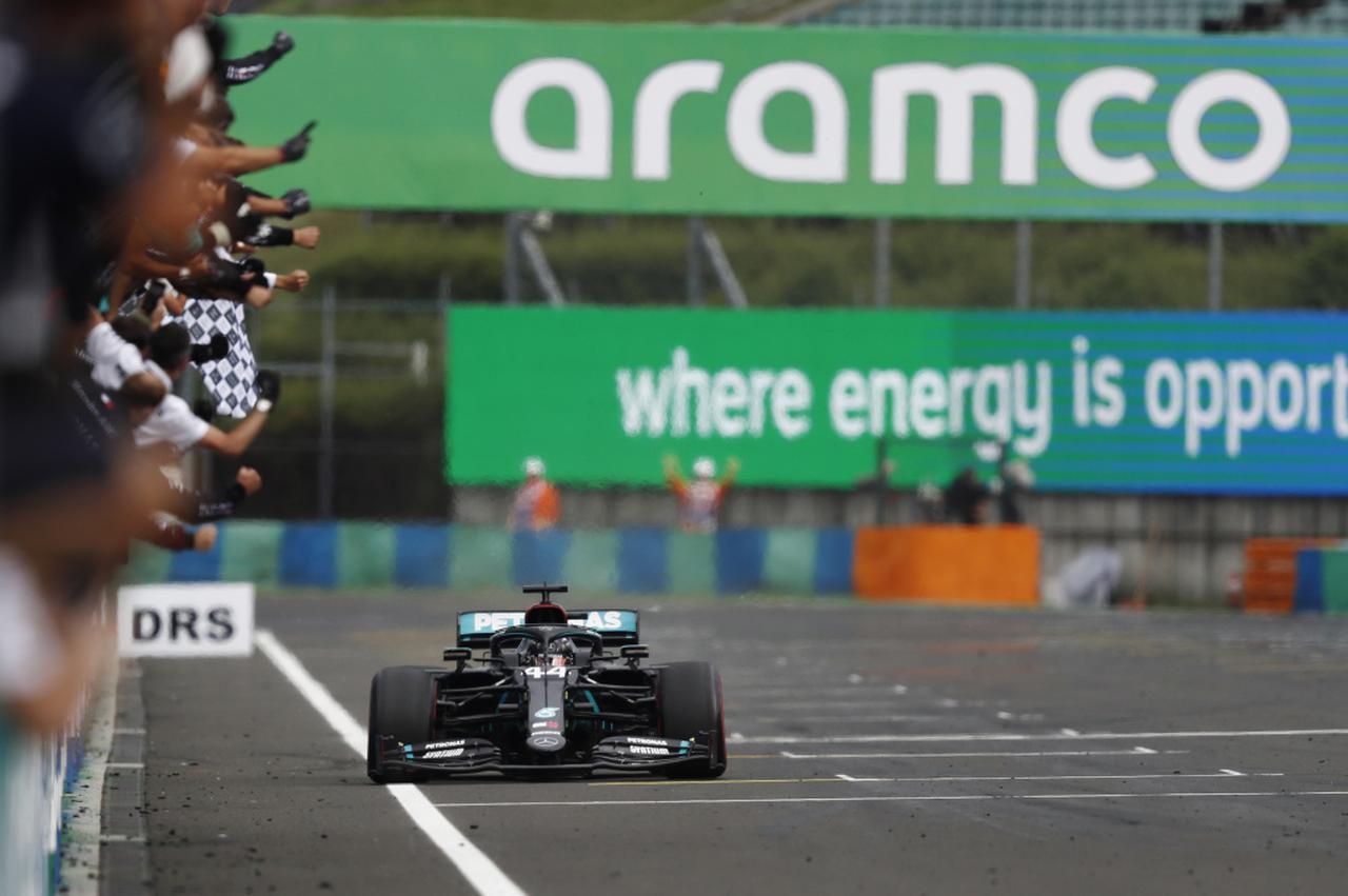 Images : 5番目の画像 - 2020年F1第3戦ハンガリーGP決勝 - Webモーターマガジン