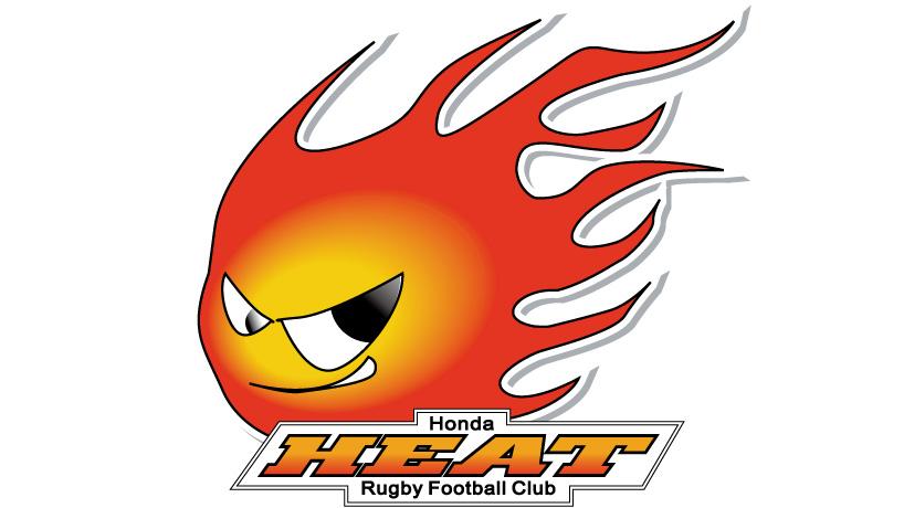 画像: 本田技研工業公認のラグビー部、ホンダ ヒートのエンブレム。チームメイトだけでなく、活動に携わる全員の心の熱さを表すという。