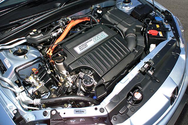 画像: 1.3Lエンジンはリーンバーン化し、気筒休止VTECも採用、補助動力としてDCブラシレスモーターを組み合わせる。