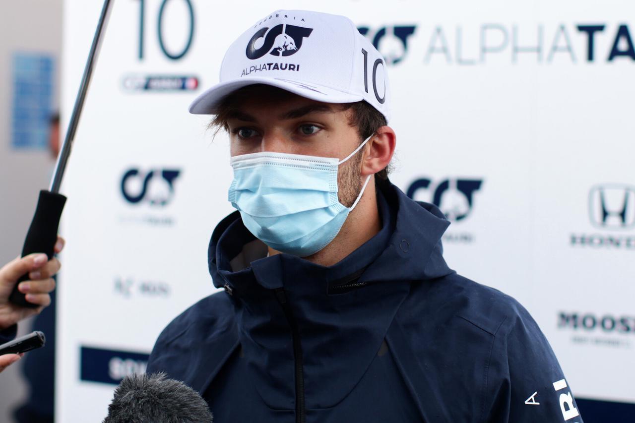 画像: ピエール・ガスリー(アルファタウリ・ホンダ)。昨年のイギリスGPでは4位入賞、得意とするシルバーストンでの走りが楽しみ。