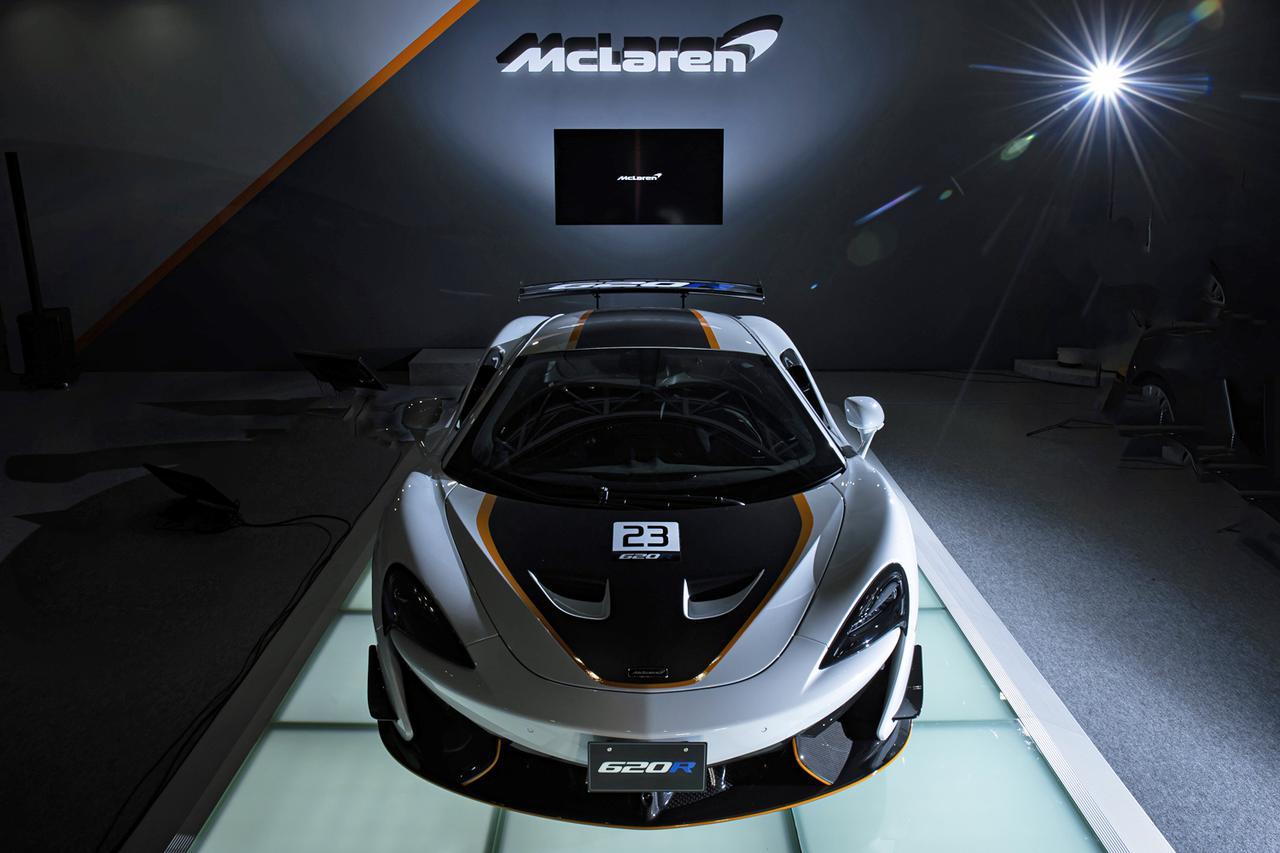 Images : 6番目の画像 - マクラーレン 620R 日本初公開 - Webモーターマガジン