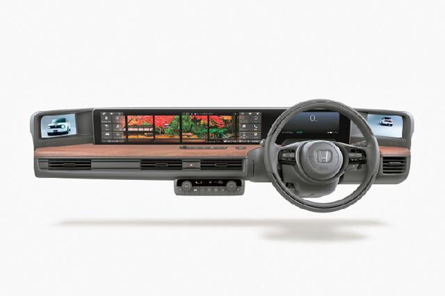 画像: 2画面の大型タッチパネルモニターの「ワイドスクリーン ホンダ コネクトディスプレイ」。