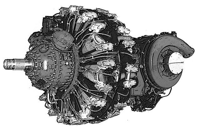 画像: F8F-2のベースエンジンは、プラット&ホイットニー R-2800 30W。空冷星型複列18気筒の45.9Lで2250hp。もちろん、エアレース用は過給器などを大幅にチューンしている。