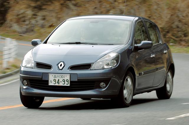 画像: 日本では2006年の3月に登場したルーテシア。欧州では「ClioⅢ」という名で販売されている。