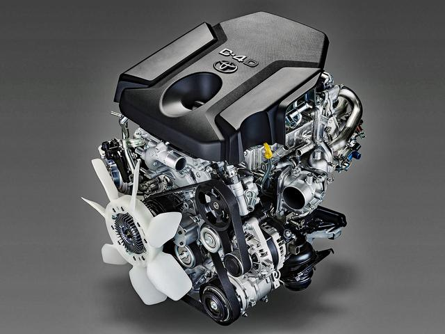 画像: 204psにパワーアップした1GD-FTV型 2.8L ディーゼルエンジン。
