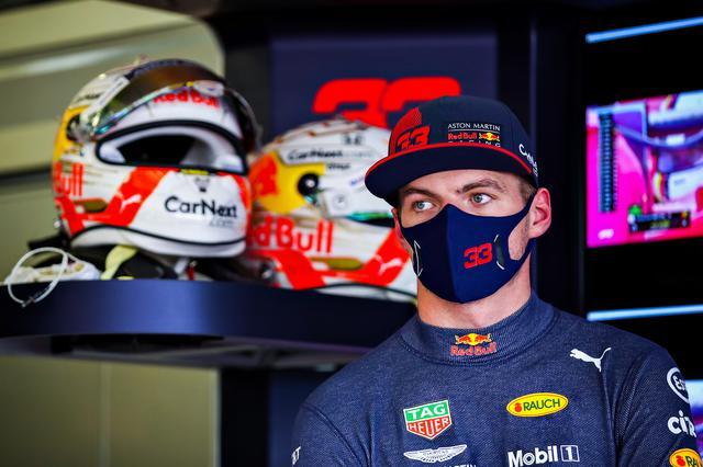 画像: マックス・フェルスタッペン(レッドブル・ホンダ)、予選4位。上位10台の中では唯一ハードタイヤで決勝スタートする。