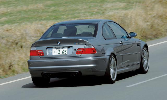 画像: M3 CSLは2003年に世界で1383台のみが販売された軽量化バージョン。CSLのモデル名はクーペ、スポーツ、ライトウエイトの頭文字から採られた。