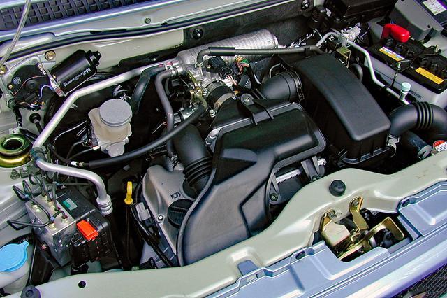 画像: スズキではMターボと称するK6A型直3ターボエンジンは低中速のトルクを重視したセッティングだ。