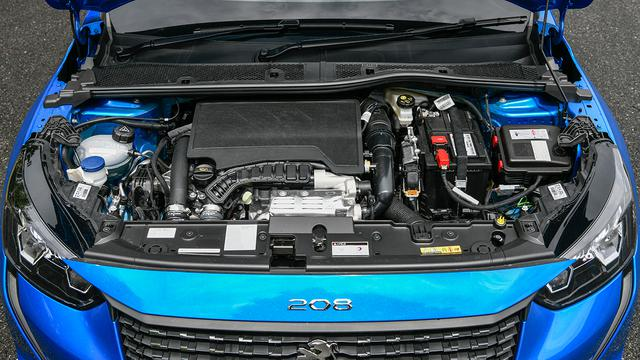 画像: 1.2L直3ターボエンジン搭載。最高出力100ps、最大トルク205Nmを発生する。