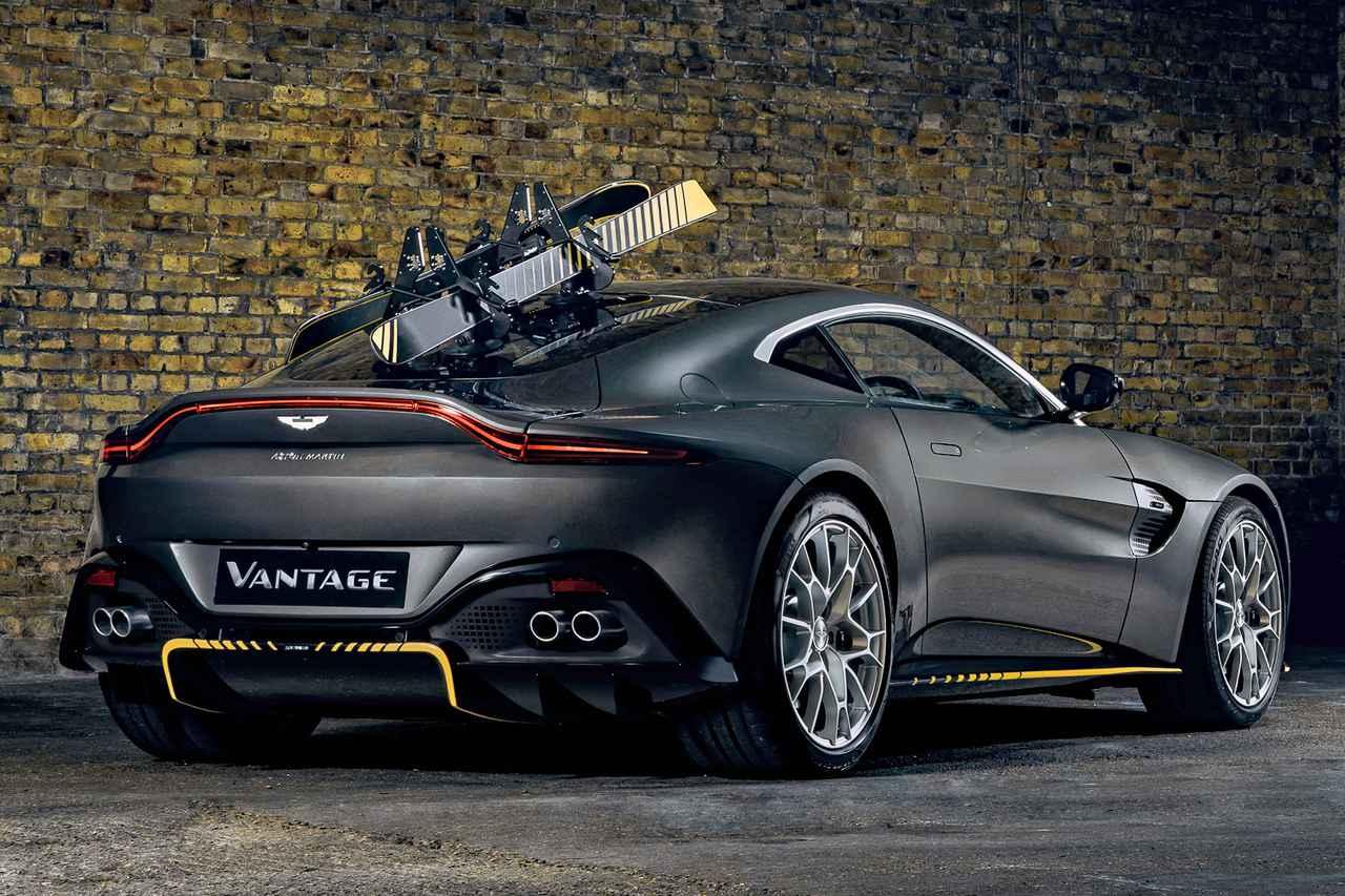 画像: ヴァンテージ 007エディション(スキーとラックは限定オプション)。
