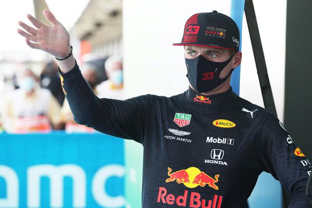 画像: マックス・フェルスタッペン(レッドブル・ホンダ)、決勝2列目3番グリッドスタート。