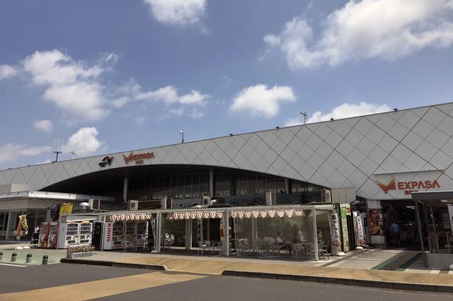 画像: 2020年7月22日に、海老名SA(下り)はリニューアルのグランドオープンにて「EXPASA海老名(下り)」に。