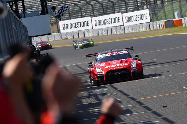 画像: 暑さに強いミシュランタイヤが安定したパフォーマンスを発揮し勝利を支えた。