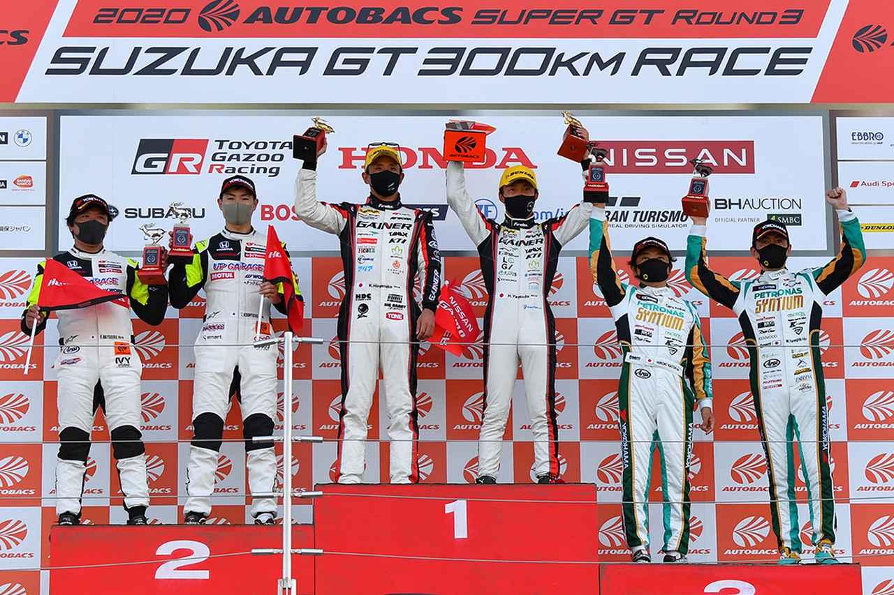 画像: 3位の加藤/柳田ペアも前戦の勝利に続き表彰台を獲得、ランキング2番手に。