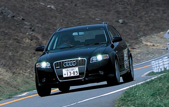 画像: 緻密で重厚な質感と軽快でスポーティな走りを特徴とする、アウディA4アバント 2.0 TFSI クワトロ。
