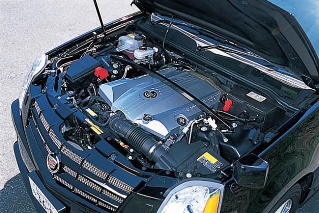 画像: 「ノーススター(北極星)」という名のキャデラック用4.6L V8エンジン。とても滑らかで力強い。